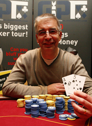 GUKPT Manchester winner Simon Moorman. Images courtesy of GUKPT/Quentin Kozma