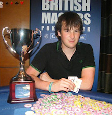 CBMPT Leeds Champion Tom MacDonald. Image courtesy of A World of Poker.