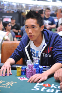 Blackbelt Poker's Sida Yuen, image courtesy of PokerStars blog